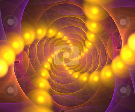 Fractal Vortex stock photo, A fractal chasm or vortex design that works great as a background or backdrop. by Todd Arena