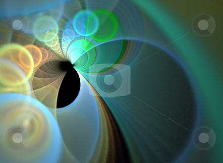 Fractal Layout stock photo, A funky fractal design that works great as a background or backdrop. by Todd Arena