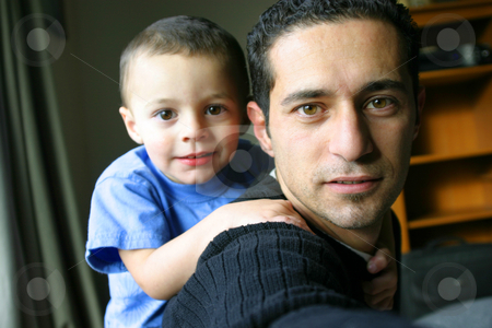 Father & Son Time stock photo, Father and Son TIme - Self Portrait by Mehmet Dilsiz