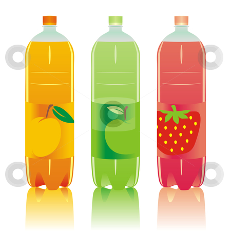 Fully editable isolated carbonated drinks set stock vector clipart, Fully editable vector isolated carbonated drinks set by pilgrim.artworks
