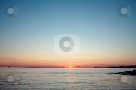 Ocean sunset stock photo,  by Turo Jantunen
