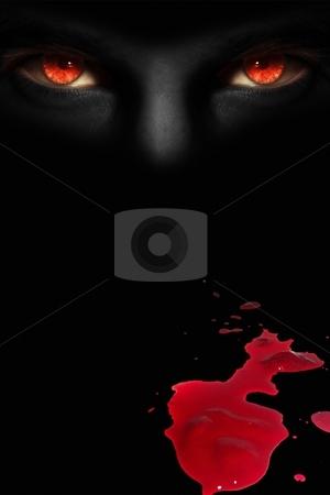 Devil's eyes stock photo,  by Dmitry Rostovtsev