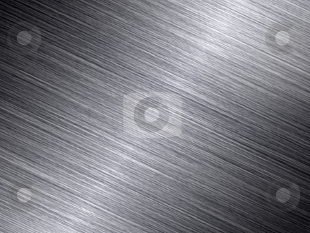 Shiny brushed metal texture abstract background. stock photo, Shiny brushed metal texture abstract background. by Stephen Rees