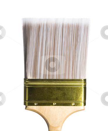 Paintbrush stock photo, Stock image of paintbrush isolated on white by iodrakon