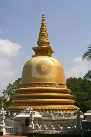 Buddhist stupa in sri lanka stock photo, A buddhist stupa at dambulla in sri lanka by Mike Smith