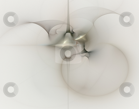 Spirit stock photo, Abstract backgound illustration - ghostly energy by J?