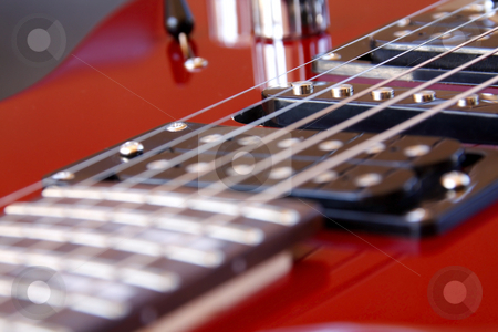 Electric Rock Guitar stock photo, Electric Rock Guitar by Chris Alleaume