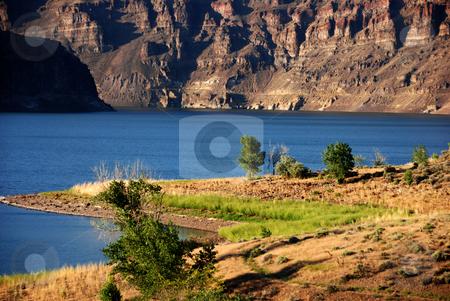 Owyhee Lake stock photo, USA, Oregon, Owyhee County, Owyhee Lake (Reservoir) by David Ryan