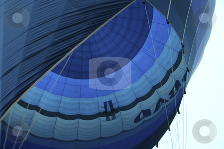 205 Looking up at Hot Air Balloon stock photo, Hot Air Ballooning in Egypt by Sharron Schiefelbein