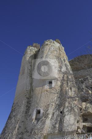 370 Church built in the mountain in Capadocia Turkey stock photo, A famous Church built in a mountain in Capadocia Turkey by Sharron Schiefelbein