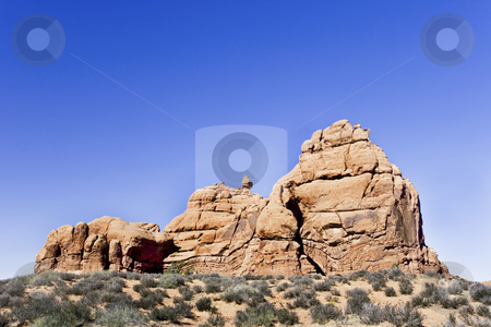 274 Aches National Park stock photo, Rock formation in Aches National Park by Sharron Schiefelbein