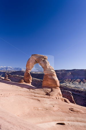 405 Delicates Arch in Uath stock photo, Delicates Arch in Arch National Park Utah by Sharron Schiefelbein