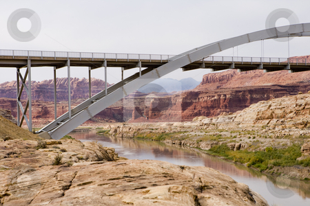 Beautiful bridge in Utah stock photo, Grand Staircase Escalante National Park by Sharron Schiefelbein