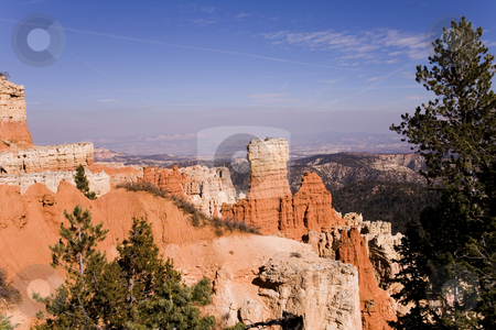 Bryce Canon National Park stock photo, A beautiful view of on the Bryce Canon Mountains in Utah by Sharron Schiefelbein