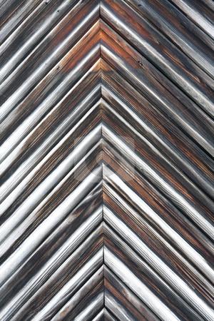 Wooden door stock photo, Worn wooden door by Sharron Schiefelbein