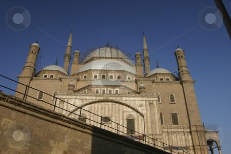 Mosque in the Citadel stock photo, Minaret of the Mosque in the Citadel in Cairo Egypt by Sharron Schiefelbein