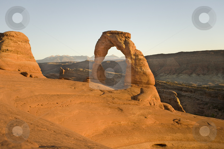 402 Delicates Arch in Utah stock photo, Delicates Arch in Arch National Park Utah by Sharron Schiefelbein