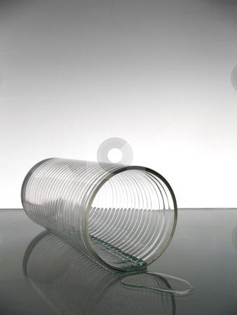 Glass of water stock photo, A felt glass of water. by Ignacio Gonzalez Prado