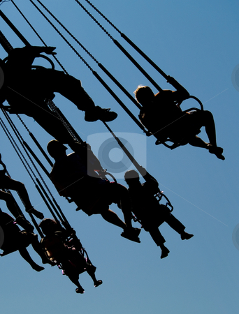Fun ride stock photo, A fun amusement park ride by Cora Reed