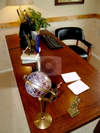 Home office stock photo, Home office set up by Cora Reed