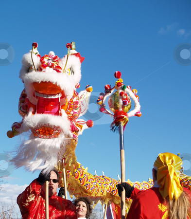 Celebration stock photo, Celebration of chinese new year by Cora Reed