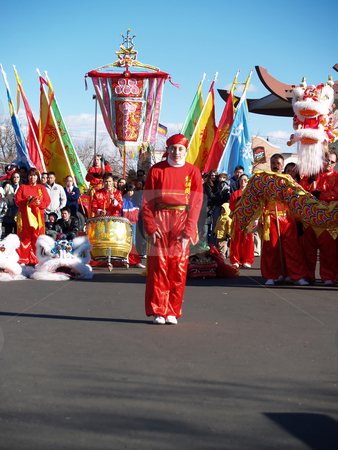 Celebration stock photo, Celebration of the Chinese New Year by Cora Reed