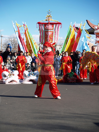 Performance stock photo, Chinese new year performance by Cora Reed
