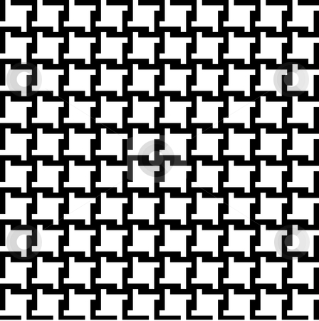Houndstooth Pattern stock photo, Trendy houndstooth pattern that tiles seamlessly as a pattern. by Todd Arena