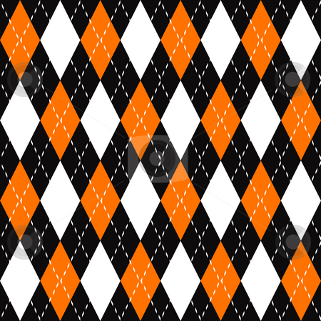 Argyle Plaid Pattern stock photo, An argyle plaid pattern that tiles seamlessly as a pattern in any direction. by Todd Arena