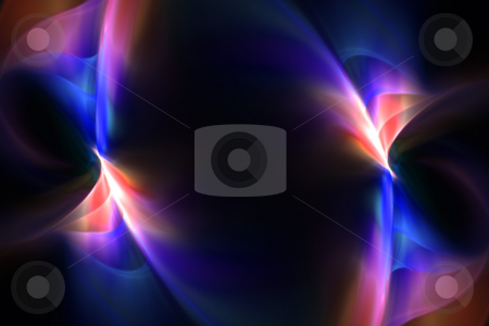 Funky Fractal Layout stock photo, A glowing fractal design that works great as a background or backdrop. by Todd Arena