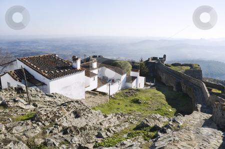 Castle of Marvao stock photo, Medieval village of Marvao, Alentejo, Portugal by Manuel Ribeiro