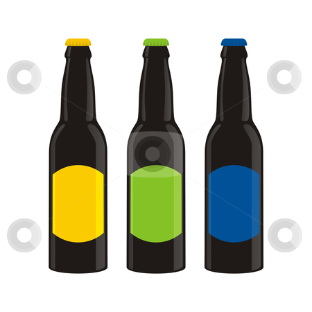 Fully editable vector image of beer collection  stock vector clipart, Fully editable vector image of beer collection by pilgrim.artworks
