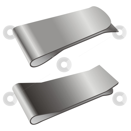 Fully editable vector metal accesories stock vector clipart, Fully editable vector metal accesories by pilgrim.artworks