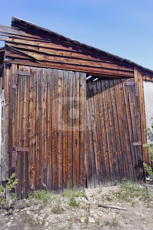 Old Barn Doors stock photo, Old Barn Doors by Sharron Schiefelbein