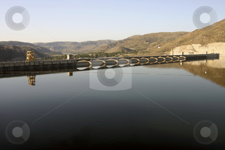 Grand Coulee Dam stock photo, Grand Coulee Dam by Sharron Schiefelbein