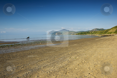 Morfa Nefyn stock photo, Morfa Nefyn beach on the Llyn Peninsula North Wales by Stephen Meese
