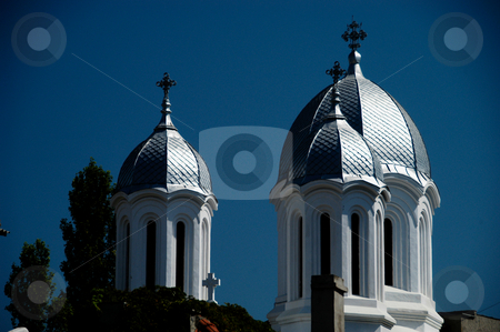 St. Nicholas Church stock photo, Romania, Bucharest, Constanta, St. Nicholas Orthodox Basilica (1889) by David Ryan