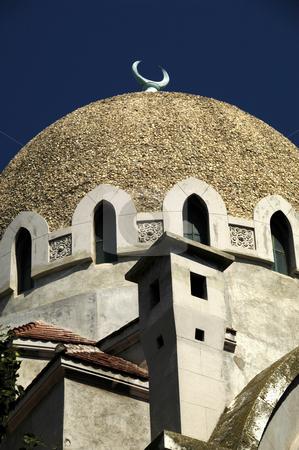 Carol 1 Mosque stock photo, Romania, Constanta, Carol 1 Mosque (1910) by David Ryan