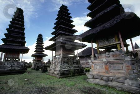 Ancestor Houses stock photo, Indonesia, Bali, Kintamani, Ancestor Houses by David Ryan
