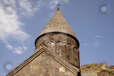 Geghard monastyr stock photo, Geghard monastyr UNESCO object near Yerevan - Armenia. by Tomasz Parys