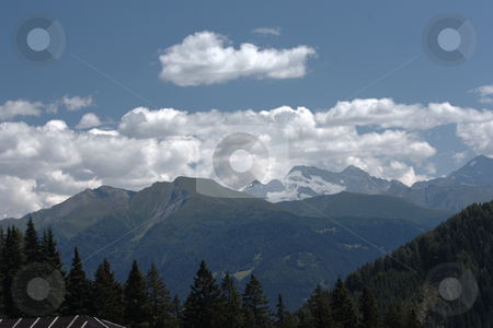 Tuxer Joch stock photo, The Zillertal in the Alps by Andre Janssen