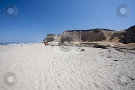 Pomponio State Beach stock photo, Pomponio State Beach is a beach located 12.5 miles (20.1 km) south of Half Moon Bay by Mariusz Jurgielewicz