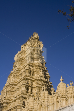 Maharaja Temple Mysore stock photo, Maharaja Temple Mysore by Sharron Schiefelbein