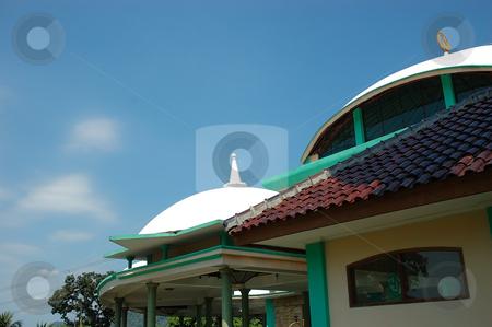 Masjid stock photo, Small masjid with arabic decorative style by Bayu Harsa