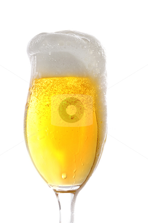 Beer stock photo, Beer in a glass by Carmen Steiner