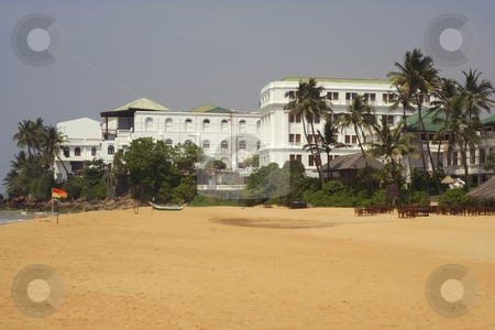 A hotel in sri lanka stock photo, A colourful hotel at mount lavinia sri lanka by Mike Smith