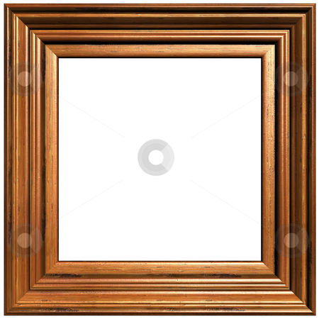 Art And Craft Picture Frame stock photo, Old Art And Craft Picture Frame by Adam Radosavljevic
