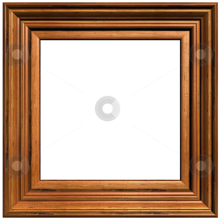Art and craft fold rame stock photo, Old Wooden Picture Frame by Adam Radosavljevic