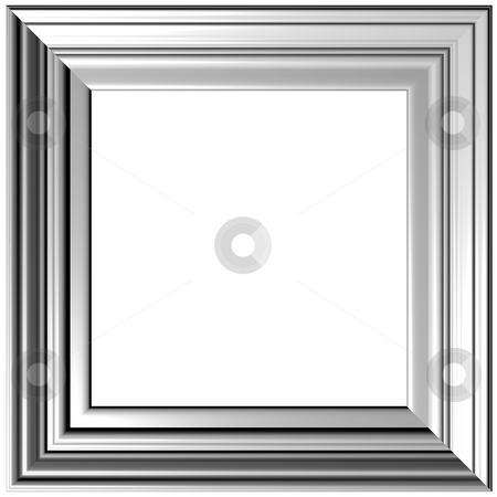 Gray Frame stock photo, Old Gold Picture Frame by Adam Radosavljevic