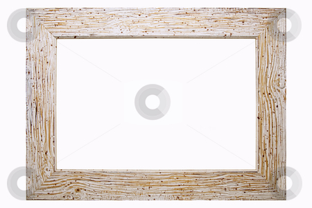 Picture Frame stock photo, Old Picture Frame Isolated On White Background, Design Element by Adam Radosavljevic
